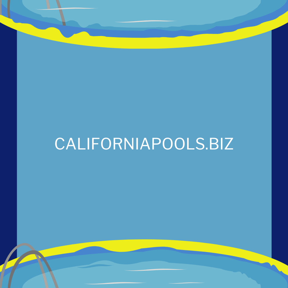 Company that builds swimming pools in California